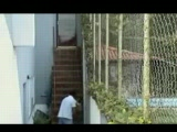 Amateur Teen Caught Fucking Her Neighbor On A Stairways