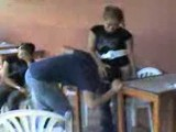 Guy Gets Dominated By A Girl In Front Of All His Friends