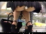 Japanese Upskirt Video Taped At The Market And On The Streets